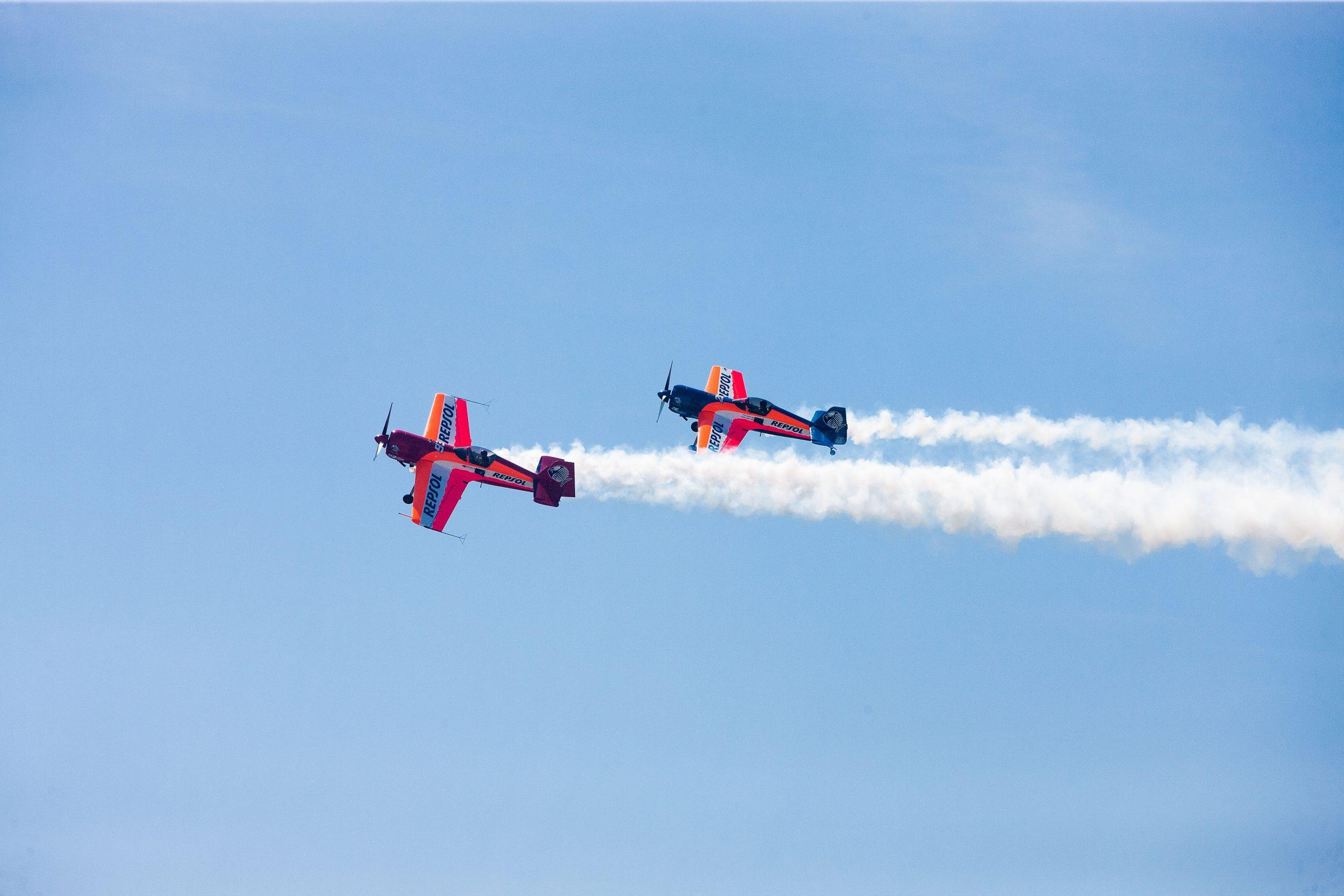 Airshows saludo